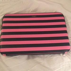 Kate Spade 'sylvia' stripe universal laptop sleeve